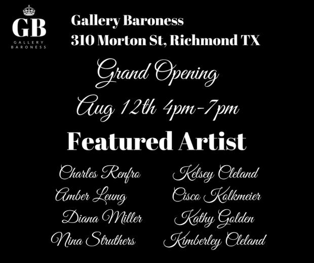 Grand Opening Featured Artist Ad