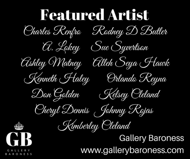 Final Featured Artist 16 Jan-27 Feb 2018