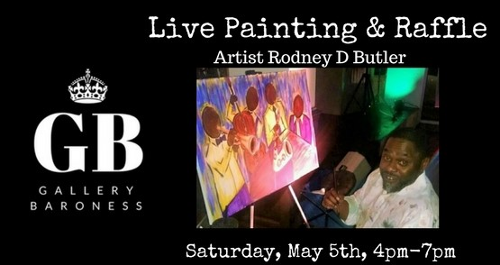 Rodney D Butler Live Painting