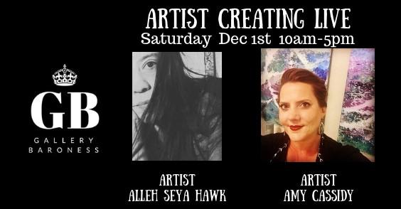 Creating art live DEC 1st 2018 (2)