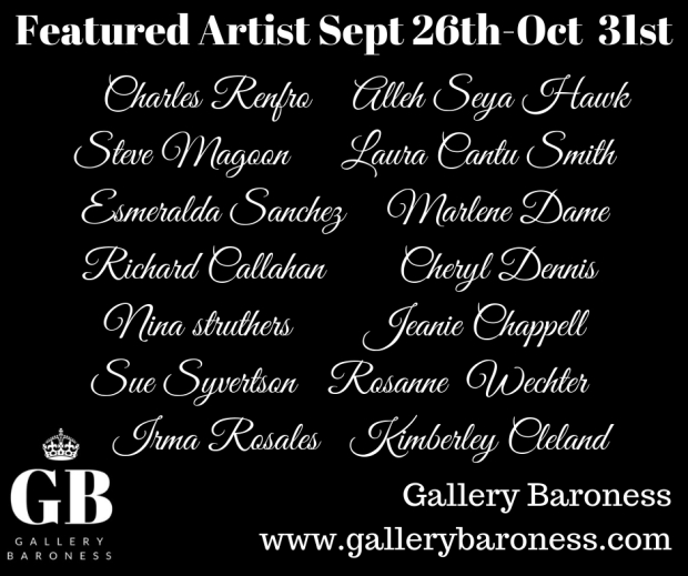 Updated Artist for Oct 2018