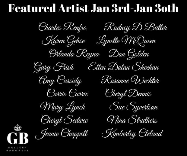 jan 2019 featured artist