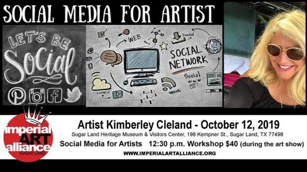 10 Social Media for Artist Oct 12 2019